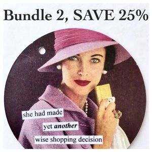 Bundle 2 items and SAVE 25%